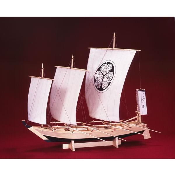 ウッディジョー 1/ 24 木製帆船模型 八丁櫓木製組立キット 返品種別B