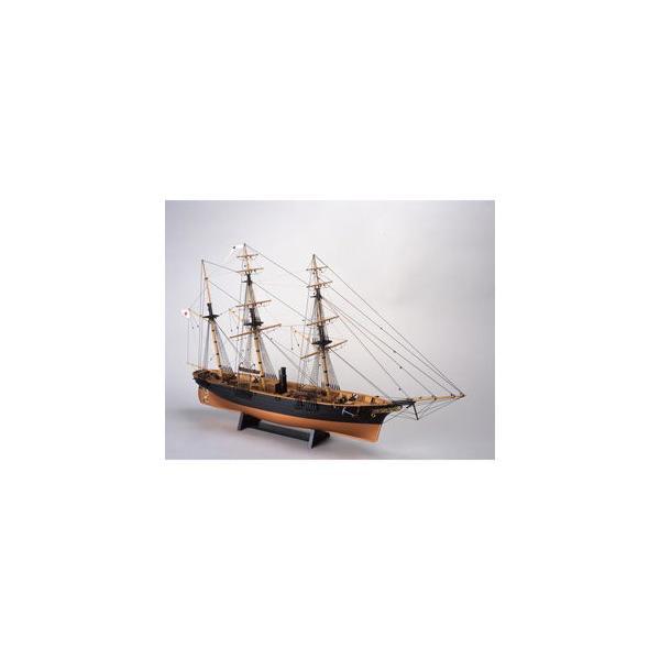 ウッディジョー 1/ 75 木製帆船模型 咸臨丸木製組立キット 返品種別B