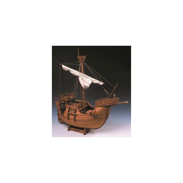 ウッディジョー 1/ 30 木製帆船模型 カタロニア船木製組立キット 返品種別B