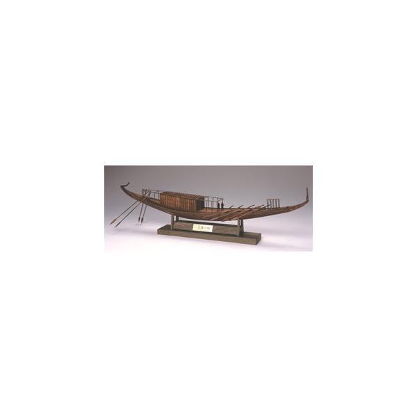 ウッディジョー 1/ 72 太陽の船 The first SOLAR BOAT木製組立キット 返品種別B
