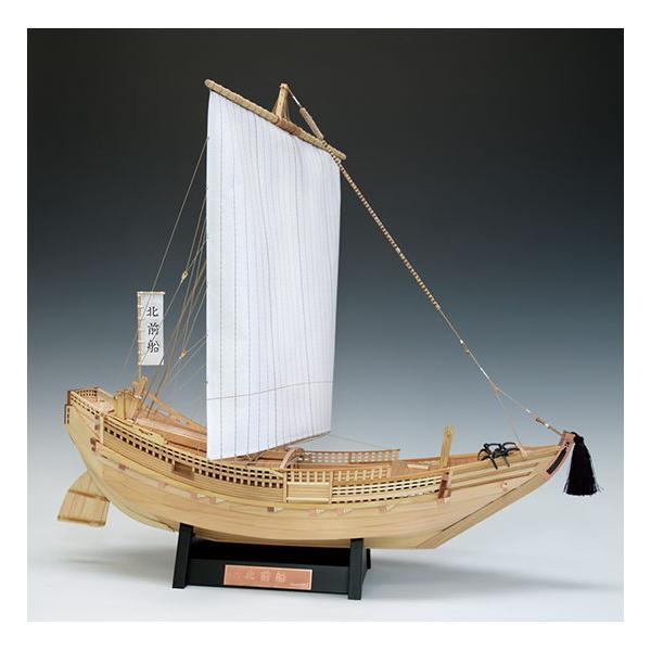 ウッディジョー 1/ 72 木製帆船模型 北前船木製組立キット 返品種別B