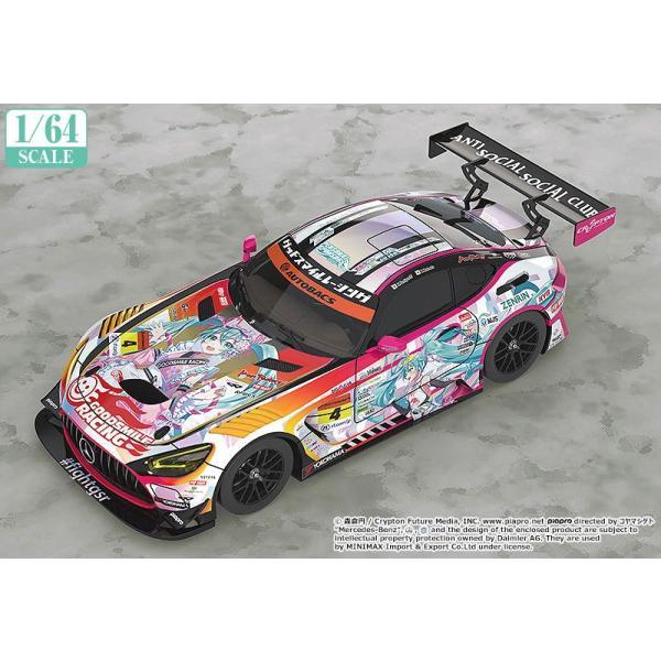 グッドスマイルレーシング 1/ 64 グッドスマイル 初音ミク AMG 2021 SUPER GT 第3戦 Ver.(初音ミク GTプロジェクト)ミニカー 返品種別B