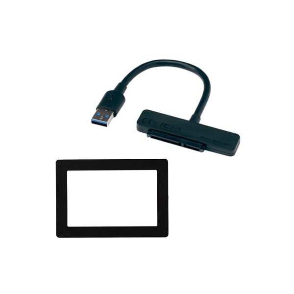 サムスン ノートパソコン用アクセサリキット Samsung SSDオプション (SATA/ USB3.0変換ケーブル、ノートパソコン用スペーサー) SMOP-NOTE/ K 返品種別A