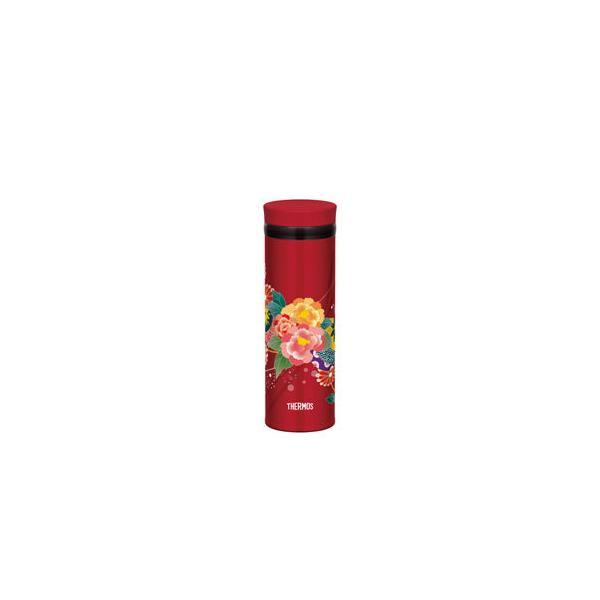 JNY-352BTN 真空断熱ケータイマグ「ボタン」和の趣を感じさせる鮮やかな花柄 (JNY352BTN) JNY-352-BTN