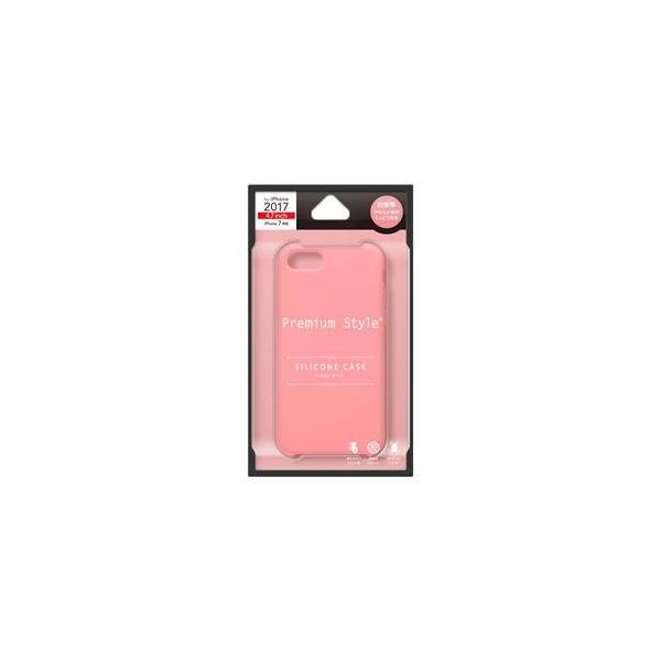 46930ad342 PGA iPhone 8 / 7用 シリコンケース(ピンク) PG-17MSC13PK 返品種別A ...