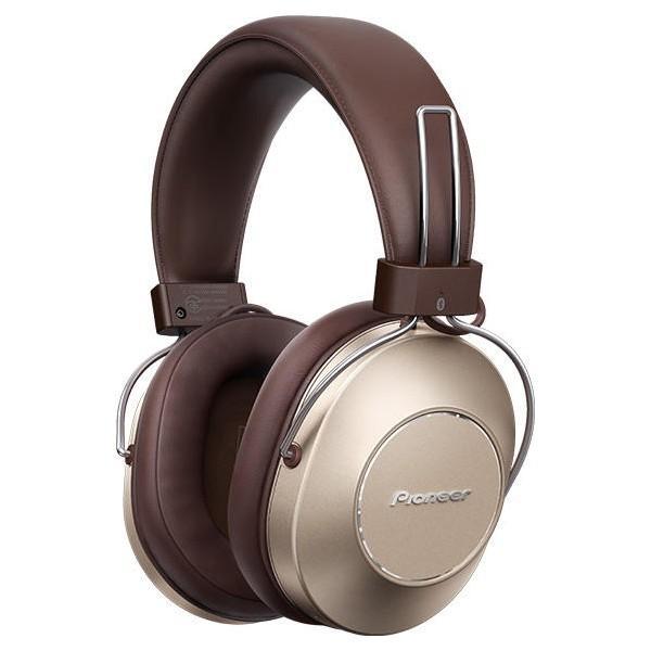 パイオニア ハイレゾ対応ダイナミック密閉型Bluetoothヘッドホン(ゴールド) PIONEER SE-MS9BN(G) 返品種別A|joshin