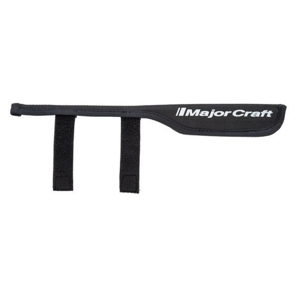 メジャークラフト ティップカバー 30cm(ブラック) MajorCraft ロッドティップカバー TIPCOVER21-BK 返品種別A