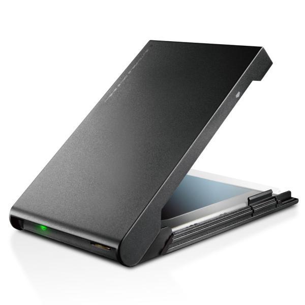 ロジテック USB3.2 Gen1 (USB3.0) 2.5インチ HDD/ SSDケース ソフト付(ブラック) LGB-PBSU3S 返品種別A