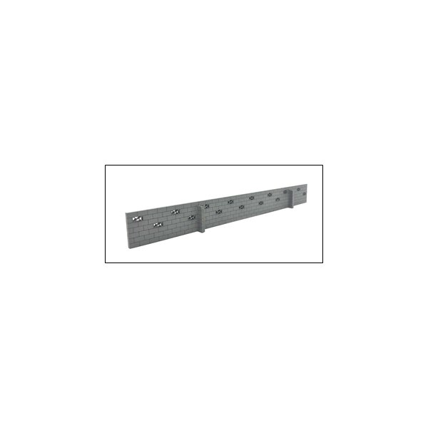 ポポプロ (HO) MS-108 ブロック塀千鳥積み・穴ありキット(1/ 80サイズ) 返品種別B