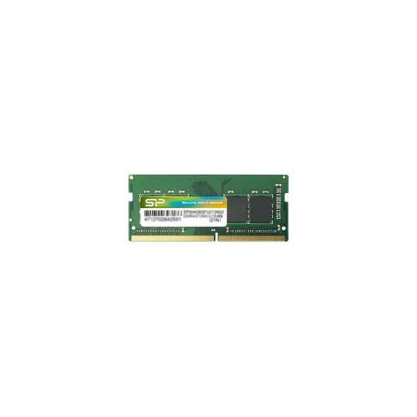 シリコンパワー PC4-17000(DDR4-2133)260pin DDR4 SDRAM S.O.DIMM 8GB SP008GBSFU213B02 返品種別B