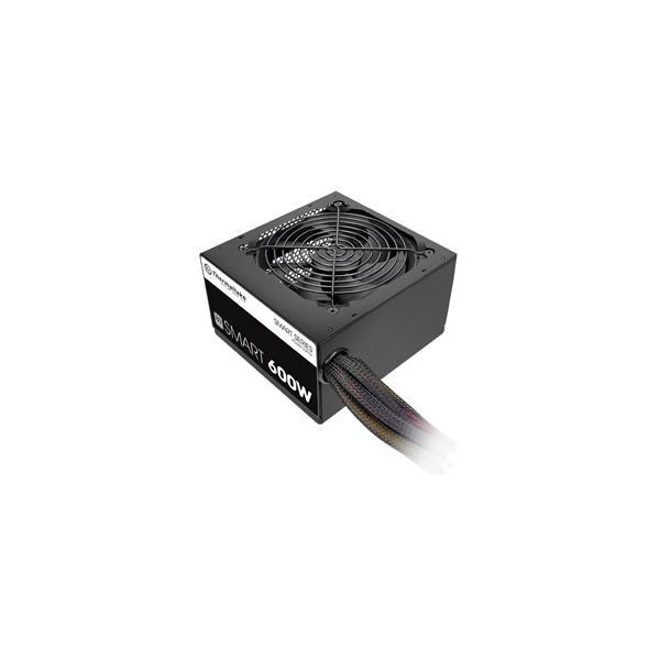 Thermaltake ATX電源 600W80PLUS STANDARD認証 PS-SPD-0600NPCWJP-W 返品種別B