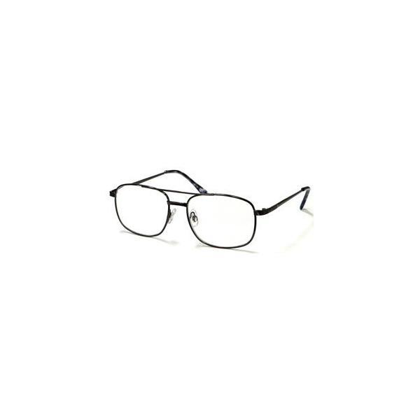 デューク 老眼鏡 (度数:+1.50)φ55 スタンダードシンプル メタルフレーム AGING Opti (エイジングオプティ) DR-95 1.5 返品種別A