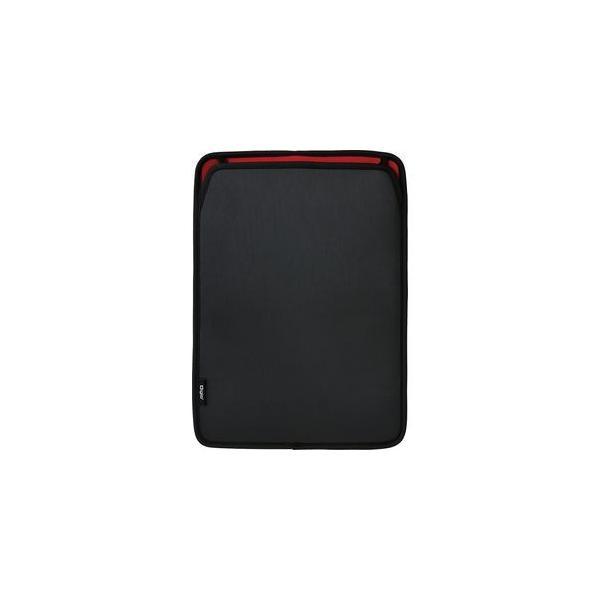 ナカバヤシ TBC-FC131603BK 13インチ タブレット汎用スリップインケース ポケット付 ブラックの画像