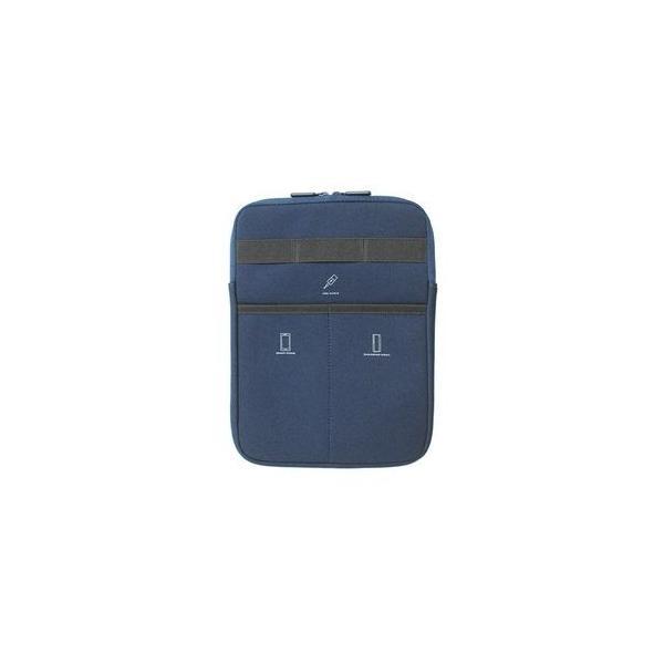 ナカバヤシ TBC-FC101606NB 10インチ インバッグケース ネイビーブルーの画像