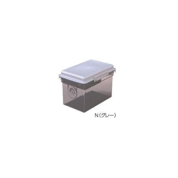 ナカバヤシ キャパティ ドライボックス DB-8L-N グレー DB-8L-N 返品種別A|joshin