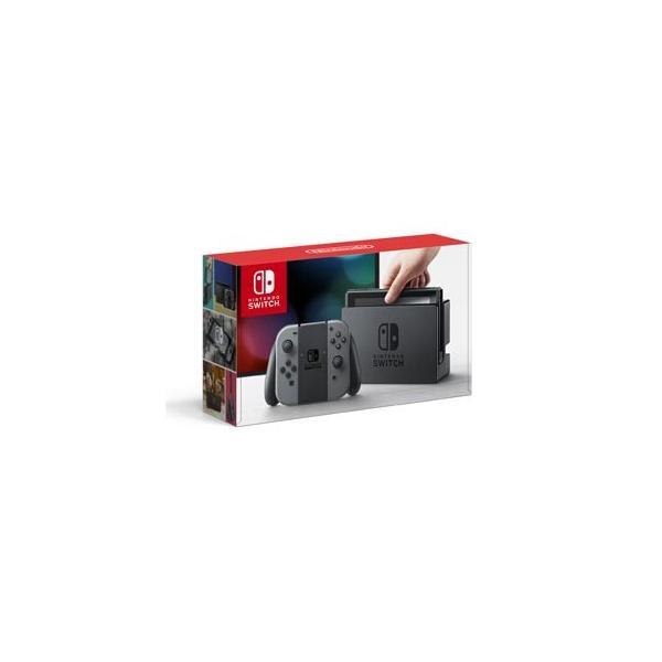 任天堂 (クーポンプレゼント対象)Nintendo Switch 本体(Joy-Con(L)/ (R) グレー) 返品種別B