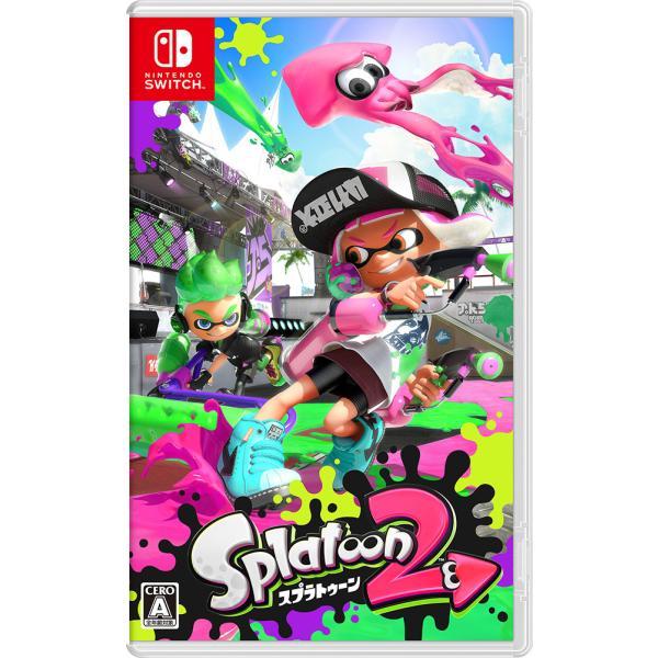 任天堂 (Nintendo Switch)Splatoon 2(スプラトゥーン2) 返品種別B|joshin