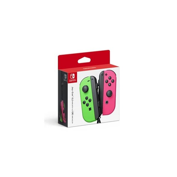 任天堂 (Nintendo Switch)Joy-Con(L) ネオングリーン/ (R) ネオンピンク 返品種別B joshin