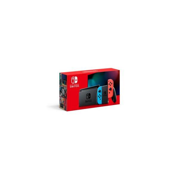 任天堂 (新モデル)Nintendo Switch 本体(Joy-Con(L) ネオンブルー/ (R) ネオンレッド) 返品種別B
