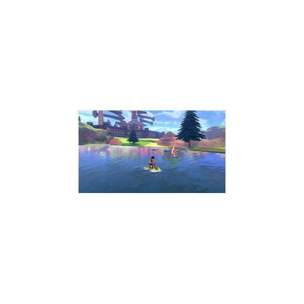 ポケモン (特典付)(Nintendo Switch)ポケットモンスター ソードポケモン 返品種別B|joshin|04