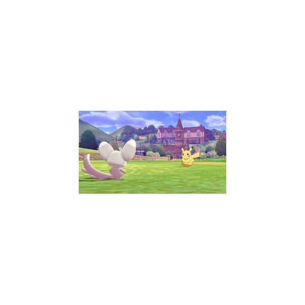 ポケモン (特典付)(Nintendo Switch)ポケットモンスター ソードポケモン 返品種別B|joshin|07