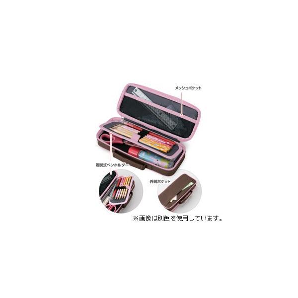 レイメイ藤井 トップライナーペンケース(ポケット付)ピンク FSB108P 返品種別A|joshin|02