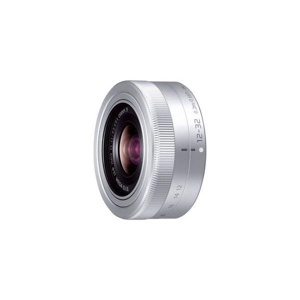 パナソニック LUMIX G VARIO 12-32mm/ F3.5-5.6 ASPH./ MEGA O.I.S.(シルバー) ※マイクロフォーサーズ用レンズ H-FS12032-S 返品種別A