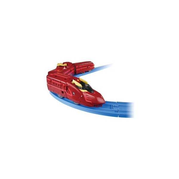 タカラトミー 新幹線変形ロボ シンカリオン DXS13 ブラックシンカリオン紅 返品種別B|joshin|03