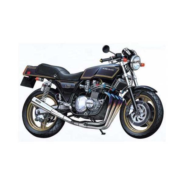 アオシマ (再生産)1/ 12 バイク No.18 カワサキ Z750FX フルチューン(42168)プラモデル 返品種別B
