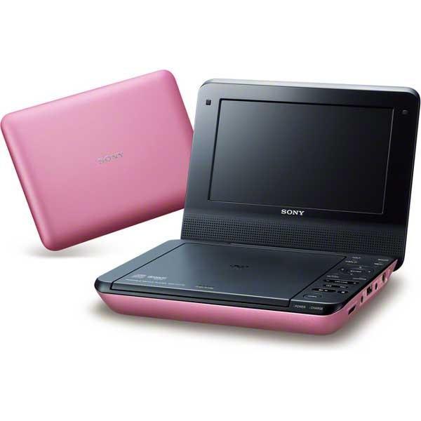 ソニー 7型ポータブルDVDプレーヤー(ピンク) CPRM対応 SONY DVP-FX780-P 返品種別A joshin