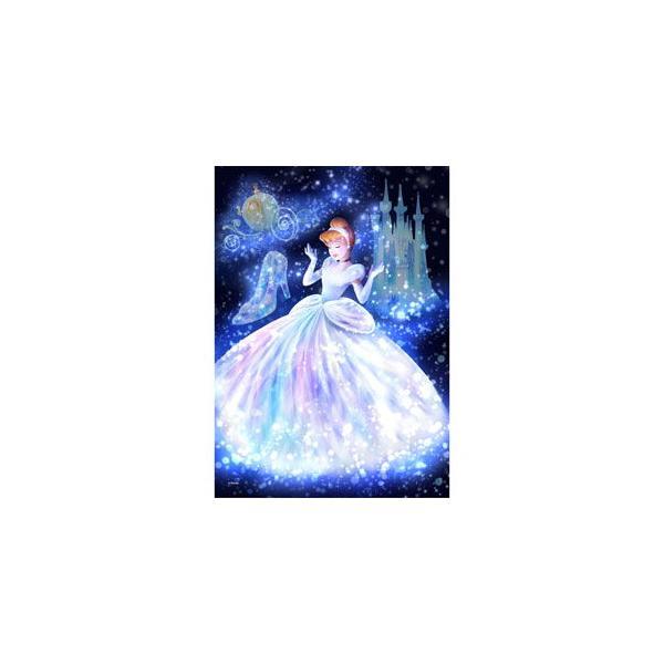 テンヨー ディズニー ステンドアート トゥインクルシャワーコレクション 魔法の光に包まれて(シンデレラ) ぎゅっと266ピースジグソーパズル 返品種別B