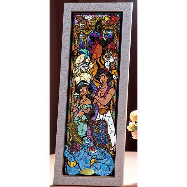 テンヨー ディズニー ステンドアート アラジン ステンドグラス ぎゅっと456ピースジグソーパズル 返品種別B