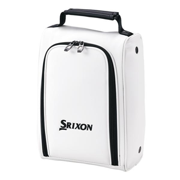 ダンロップ スリクソン シューズケース(ホワイト) DUNLOP SRIXON GGA-S164-WH 返品種別A