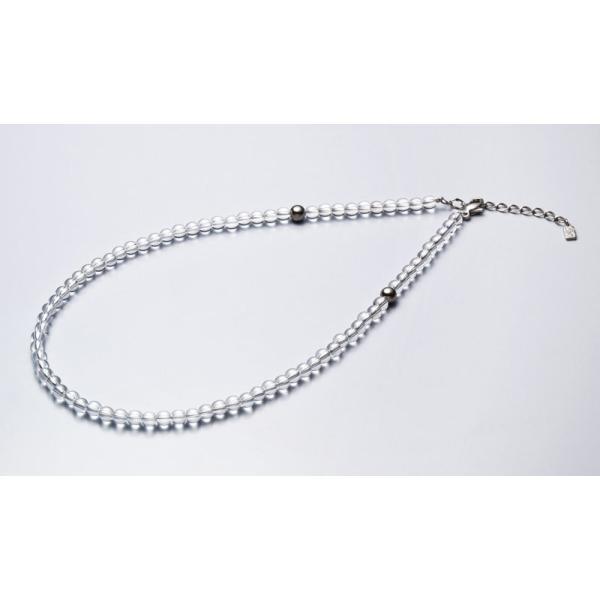 ファイテン 水晶ネックレス[サイズ:40cm] phiten 0515AQ808051 返品種別A