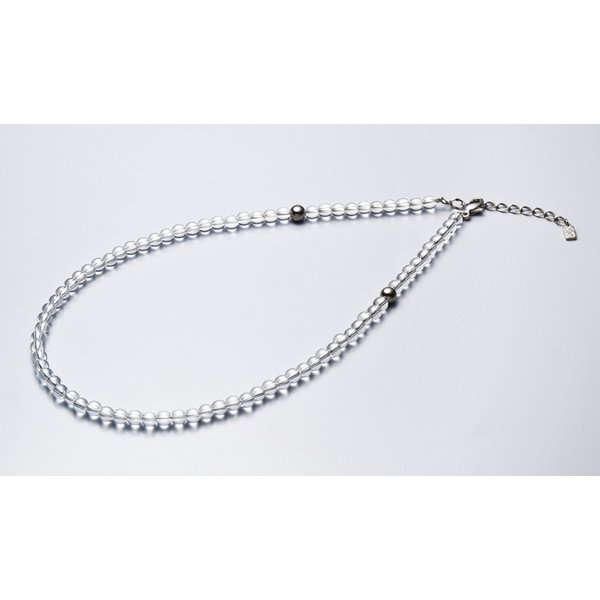 ファイテン 水晶ネックレス[サイズ:50cm] phiten 0515AQ808053 返品種別A