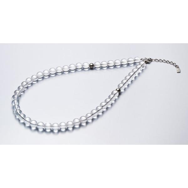 ファイテン 水晶ネックレス[サイズ:40cm] phiten 0515AQ810051 返品種別A