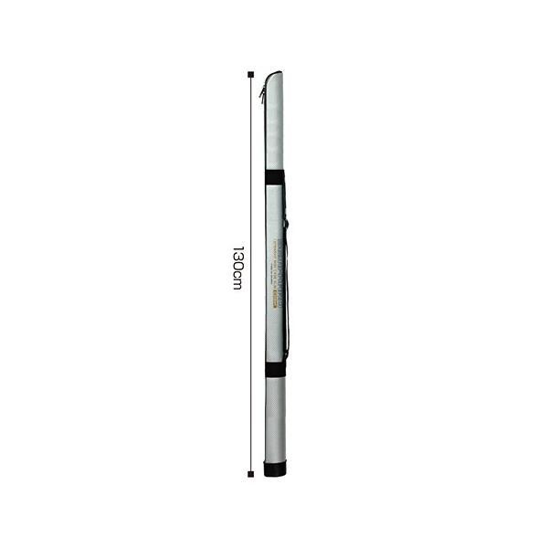 大阪漁具 セミハードストレートロッドケース スリム 130cm(シルバー) OGK セミハードロッドケース OG490S130S 返品種別A
