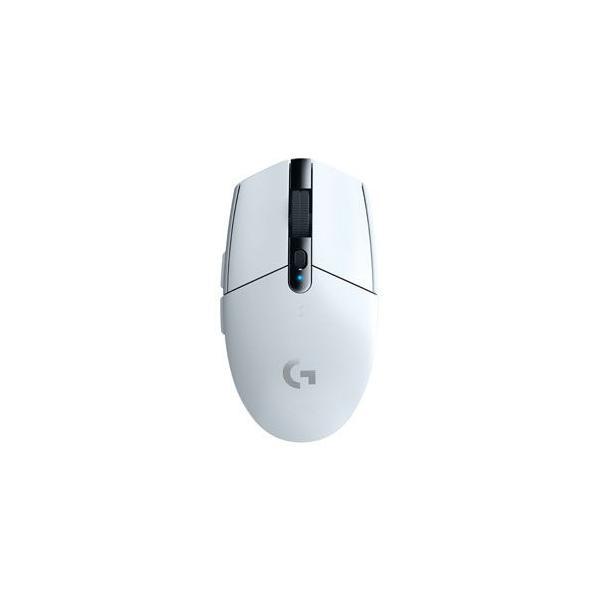 ロジクール 2.4GHzワイヤレス 光学式ゲーミング マウス ホワイト Logicool G304 LIGHTSPEED Wireless Gaming Mouse G304RWH 返品種別A|joshin