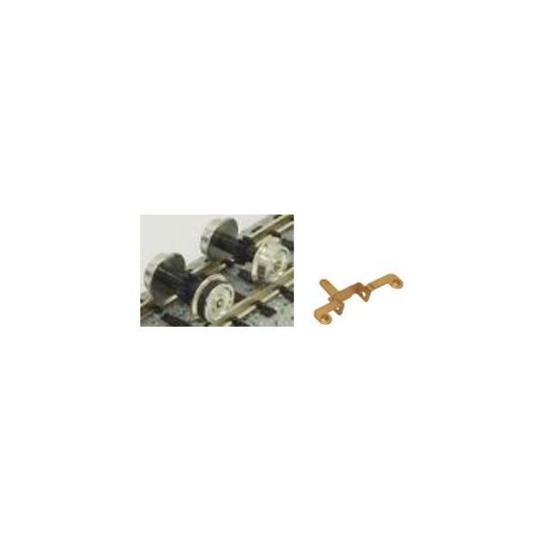 グリーンマックス (N) 8639 動力台車用車輪(コアレス動力対応)(銀) 返品種別B