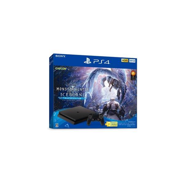 ソニー・インタラクティブエンタテインメント PlayStation 4 モンスターハンターワールド:アイスボーン マスターエディション Starter Pack Black 返品種別B|joshin
