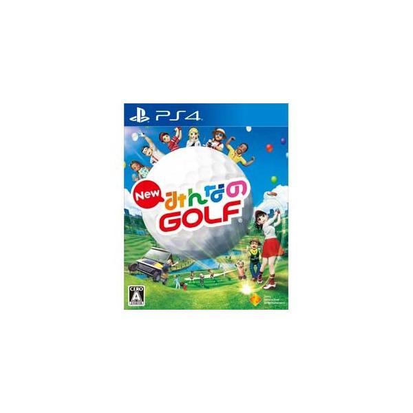 ソニー・インタラクティブエンタテインメント (封入特典付)(PS4)New みんなのGOLFみんゴル みんなのゴルフ 返品種別Bの画像