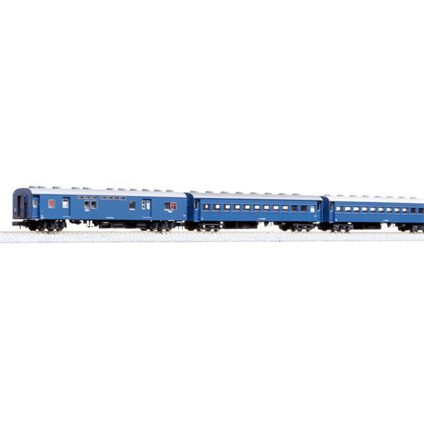 カトー(N)10-034-1旧形客車4両セット(ブルー)返品種別B