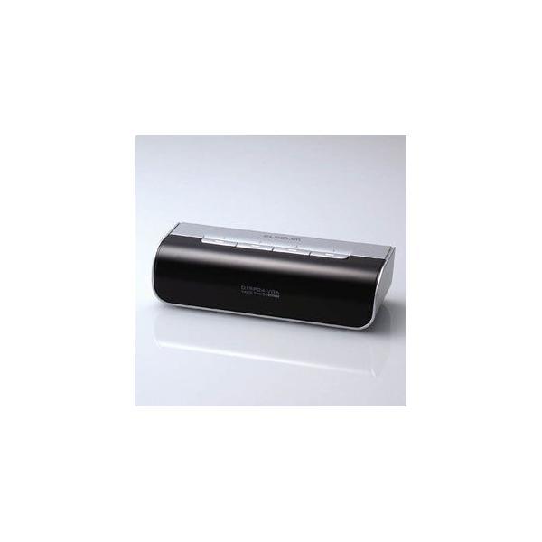 エレコム 電子式ディスプレイ切替器 4切替 DTSP24-VGA 返品種別A