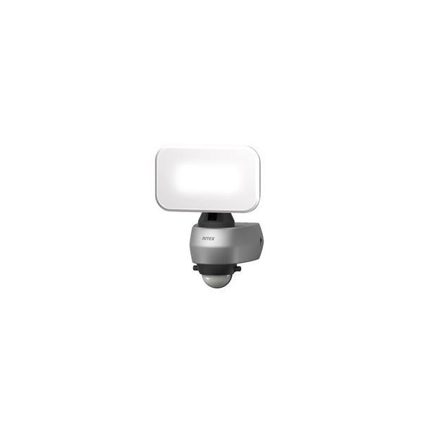 ムサシ LEDセンサーライト(9Wワイド) MUSASHI RITEX LED-AC309 返品種別A