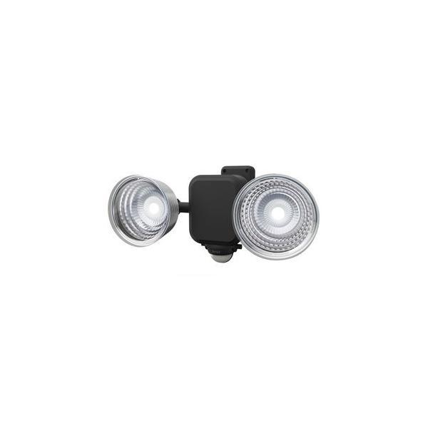 ムサシ 乾電池式LEDセンサーライト(3.5W×2灯) RITEX LED-265 返品種別A