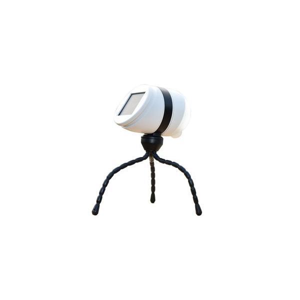 ムサシ ソーラー充電式LEDセンサーライト(1W×1灯) musashi どこでもセンサーライトソーラー ASL-093 返品種別A