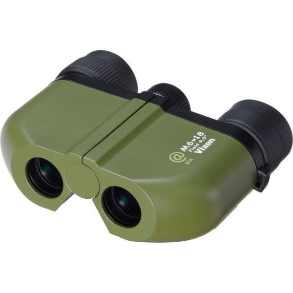 ビクセン 双眼鏡 「at6 M6×18」(倍率:6倍) AT6-M6X18 返品種別A