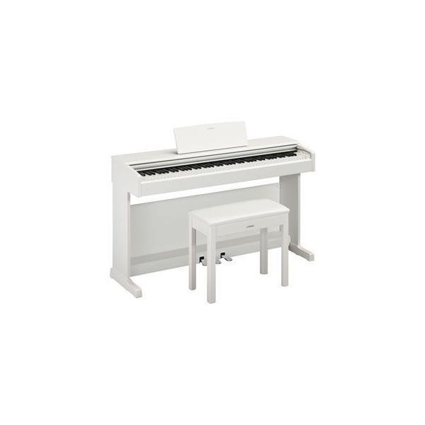 ヤマハ 電子ピアノ(ホワイトウッド調仕上げ)(椅子&ヘッドホン&ソングブック付き) YAMAHA ARIUS(アリウス) YDP-144WH 返品種別A