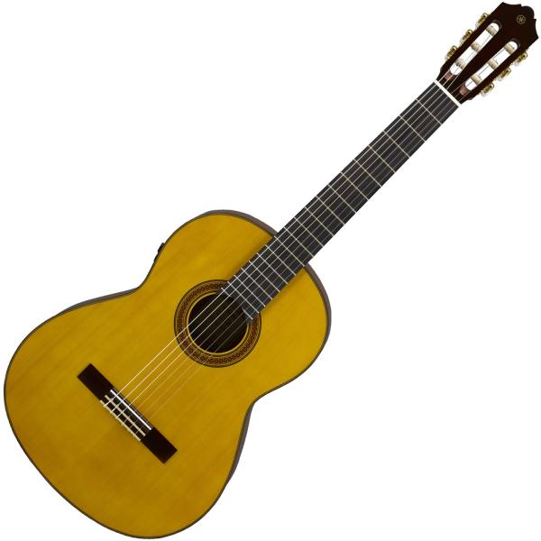 ヤマハ トランスアコースティックギター(ナチュラル) YAMAHA CG-TA 返品種別A