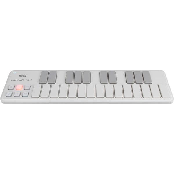 コルグ 25キーUSB MIDIキーボード・コントローラー (ホワイト) KORG nanoKEY2 NANOKEY2-WH 返品種別A|joshin